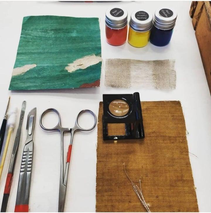 Masterclass PRESENCIAL de restauración de pintura